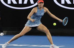 Sharapova trata de volver a los primeros planos.