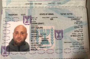 Israelí Shy Dahan, que escapó de La Joyita en 2018, podría estar en Argentina. Foto: Panamá América.