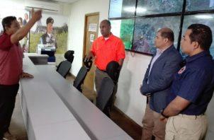 A  las áreas afectadas de Aguadulce se trasladó el gobernador de la provincia de Coclé  y personal de Sinaproc.
