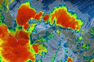 Sinaproc advierte sobre lluvias hasta el jueves en zona occidental del país. Foto: Sinaproc.