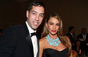 Sofía Vergara y Nick Loeb.