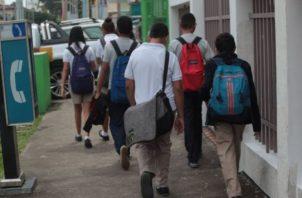 Los colegios no devuelven el dinero pagado por los padres de familia. Foto: Archivo