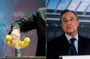 Florentino Pérez presidente del Real Madrid. Foto AP