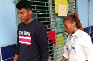 Héctor Isaac Domínguez, a quien se le permitió narrar los hechos, dijo que se dirigía al aeropuerto de Tocumen a recoger a una hermana, cuando encontró a la caravana del SPI. Foto/Eric Montenegro