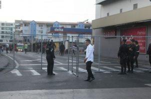 El pasado 2 de enero el SPI  cerró en más de 8 puntos, el acceso al Palacio Justo Arosemena.. Víctor Arosemena