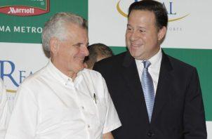 El empresario compareció este jueves al juicio oral que se le sigue al expresidente Ricardo Martinelli.