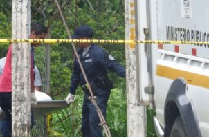 El cuerpo del joven sin vida fue encontrado por sus propios familiares, ubicándolo en un lugar boscoso con una cuerda atada al cuello colgando de un árbol. Foto/Mayra Madrid