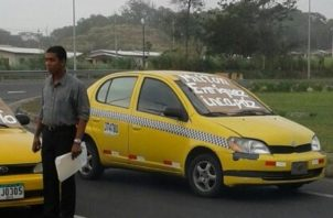La dirigencia criticó que a dos años de la presentación del servicio Uber en Panamá, el mismo haya sido legalizado, en detrimento del sector selectivo. Foto/Diómedes Sánchez