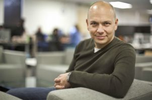Tony Fadell inició Nest en el 2010, a los 41. En pocos años, Google la compró en 3.2 mil millones de dólares. Foto/ Peter DaSilva para The New York Times.