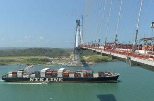 El tercer puente sobre el Canal sería inaugurado hoy y beneficiará a moradores de 14 corregimientos. Cortesía ACP