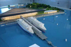 Se convertirá en el primer puerto de cruceros construido en el sector pacífico de la República de Panamá.