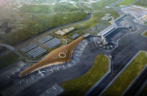 La obra, diseñada por el arquitecto británico Norman Foster, se edifica a un costo que supera los $800 millones.