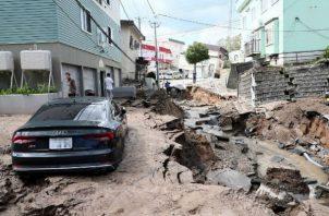 De acuerdo con la Agencia Meteorológica de Japón, el movimiento sísmico, que generó una alerta de tsunami en tres prefecturas, tuvo una intensidad de 6 grados (rango superior) en la escala japonesa (de 7 grados) en la región de Niigata, y se sintió con fuerza en la mitad norte de Japón. FOTO/EFE