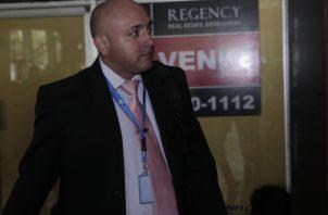 Luis Enrique Rivera Calle, jefe informático del Instituto de Medicina Legal y Ciencias Forenses (Imelcf), quien es testigo por parte de la fiscalía. Foto de Víctor Arosemena