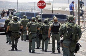 La policía respondió a la llamada de emergencia y aseguran que el sospechoso fue detenido. FOTO/EFE