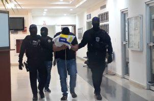 Miguel Martín Chung Nuñez de 37 años de nacionalidad costarricense y ecuatoriana, es solicitado por Estados Unidos por el presunto delito de narcotráfico. Foto/José Vásquez.