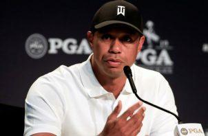 El golfista Tiger Woods. Foto:EFE