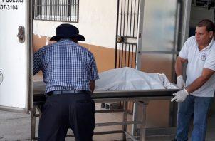 Para este lunes se tiene previsto se realice el examen de necropsia que determine las causas reales de la muerte de esta persona. Foto/Mayra Madrid