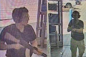 La foto del tirador fue tomada en el momento que entró en las instalaciones del centro comercial en El Paso, Texas.