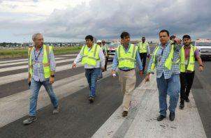 Nueva administración constata el estado real de los proyectos.