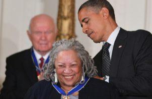 Toni Morrison. AFP