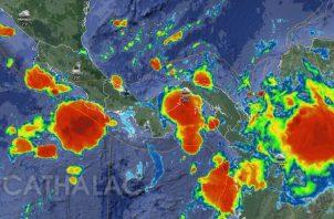 El fenómeno se presentará en todo el país hasta el lunes 2 de septiembre. Foto: Sinaproc.