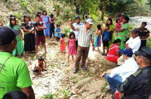 Minsa confirma 81 casos de tosferina en las montañas de la comarca Ngäbe Buglé. Foto: Panamá América.