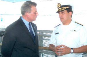 Ricardo Traad fue director del Servicio Marítimo Nacional en la administración de Martín Torrijos. Foto: Archivo.