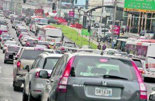 El tráfico es uno de los inconvenientes detectados en la actividad. Cortesía