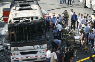 En la tragedia del bus 8B-06, hecho registrado el 23 de octubre de 2006, fallecieron 18 personas.