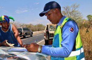 Más de 19 mil infracciones colocadas por la ATTT.
