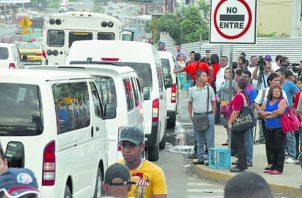 Los transportistas tienen la posibilidad de convertirse en alimentadores del Metro de Panamá y Metro Bus.