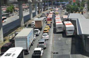 El área de Los Andes 2 es una de las más afectadas por la falta de transporte. Foto de cortesía
