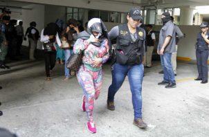 La tratante fue capturada en octubre de 2017 tras un operativo realizado en el área de El Dorado. Foto: Archivo.