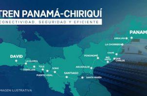 Hoy se realizó la entrega del estudio de factibilidad del Proyecto Ferroviario Panamá - David