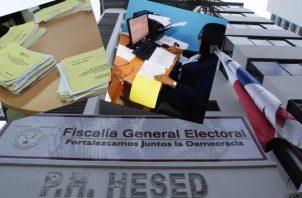 Candidatos independientes con firmas alteradas del Tribunal Electoral. Foto: Panamá América.