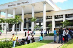 Sede del Tribunal Electoral en Ancón. Archivo