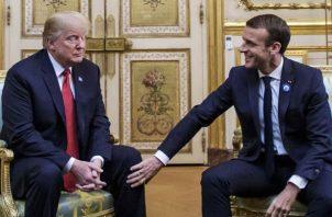 """""""Emmanuel Macron sugiere construir su propio Ejército para proteger Europa frente a EE.UU., China y Rusia. FOTO/EFE"""