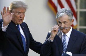 Jerome Powell fue elegido por Donald Trump como presidente de la Fed