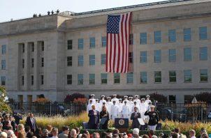 El presidente Donald Trump fue tajante en su amenaza contra los talibanes. FOTO/AP