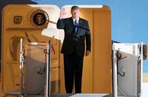 El presidente estadounidense evitó, sin embargo, referirse a su segunda cumbre con Kim.