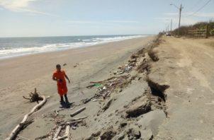 Sinaproc solicita a la población adoptar medidas de prevención y restringir actividades maritima y costera. Foto: Mayra Madrid.