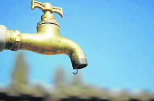 Se esperan puntos sin agua y otros con baja presión. Foto ilustrativa