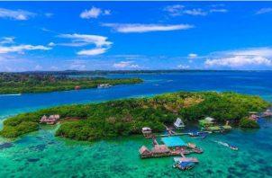 Cayo Coral, se encuentra ubicado en  Bocas del Toro Foto: Cortesía ATP