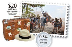El ingreso de visitantes a Panamá disminuyó en el 2018 un 1.2%.
