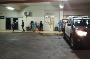 La pareja se encuentre recluida en el cuarto de urgencias del hospital Nicolás Solano. Foto/Eric Montenegro