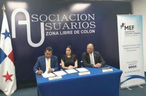 Los empresarios de la Zona Libre de Colón (ZLC) están capacitándose y desarrollando acuerdos de intercambio de información. Foto: Cortesía