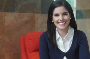 Valeria Maduro. Autora de 'Trampa al tiempo', que contiene siete historias de superación. Cortesía