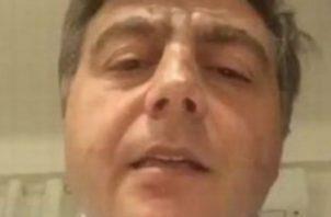 Valter Lavítola desmiente en redes a corresponsal del diario La Prensa. Foto: Redes sociales.