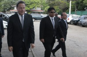 Juan Carlos Varela y Alexis Bethancourt. Foto: Archivo